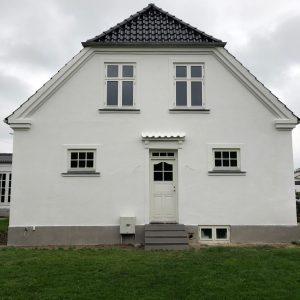 Professionel facadepuds i Frederikssund hos Murermester Mads Tolderlund